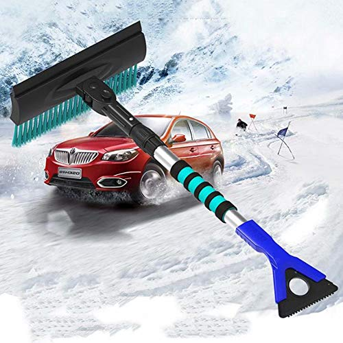 Why Choose AA-SS Car Snow Removal Shovel Glass Snow Frost Shovel Ice Snow Scraper Deicing Ice 3 in 1...