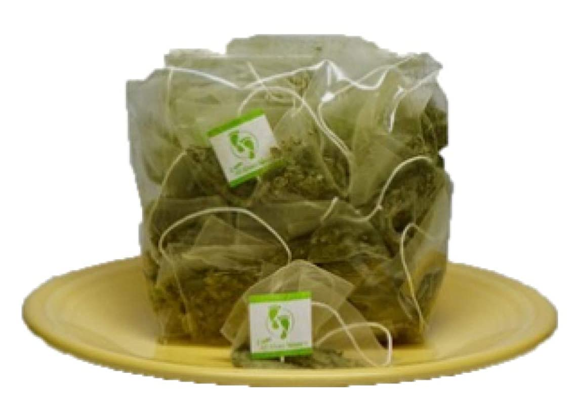 Neem Queen Tea Bags (60 CT) Bulk Organic, Green, Caffeine Free. America's Choice Packaged and Made in USA. The Bio Film Buster!