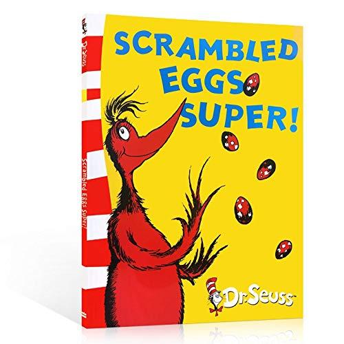 VODVO Der Kater mit Hut von Dr. Seuss Cchildren Bücher Baby Learning Usa Englisch Geschichte Buch for Kinder Lernspielzeug (Farbe : Scrambled Eggs super)