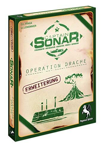 Pegasus Spiele 57014G - Captain Sonar: Operation Drache (2. Erweiterung)