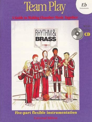 RHYTHM AND BRASS TEAM PLAY (+CD): EB INSTRUMENTS
