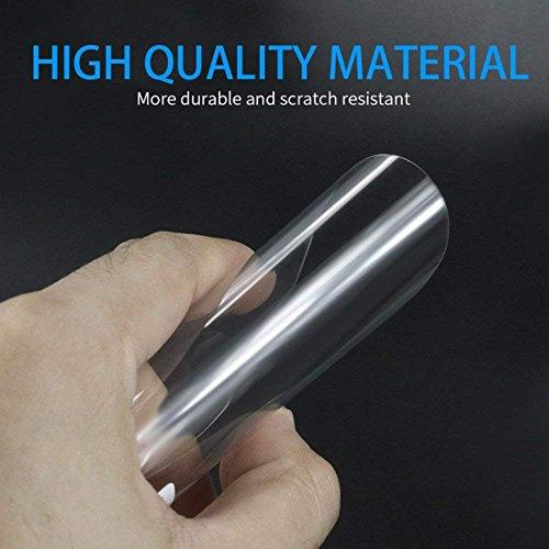 51t+6pM7t4L - Freenavi Car Rearview Mirror Waterproof Film, Anti Fog Film Anti-Glare Anti Mist Anti-Scratch Waterproof Rainproof Rear View Mirror Window Clear Protective Film-2Pcs