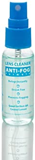 Anti Fog Spray Eyeglass Lens Cleaner, Long Lasting Defogger For Glasses, Goggles, Ski Masks Mirrors and Windows
