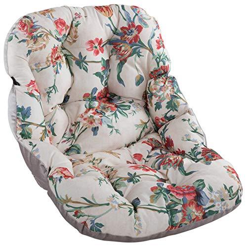 Gartenstuhl Stuhlauflage Auflage Sitzkissen Niedriglehner Sitzpolster Outdoor Garten Kissen Auf beiden Seiten Verwenden (B)