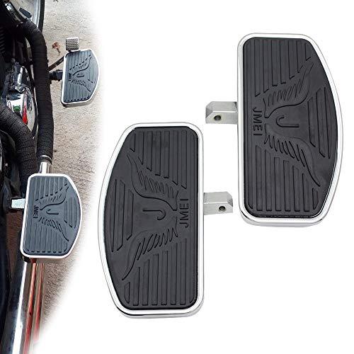 Motorcycle Floorboard Front/Rear passenger foot pegs for Honda Magna VF250/VT250/VF750 1994-2013 Yamaha V-STAR DragStar XVS 650 / Virago XV125/250/400 Pair