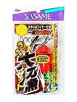 ささめ針(SASAME) うきうき堤防太刀魚 水平4点ワイヤー仕様 M W-667.