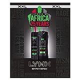 Lynx XXL Africa 25 anni Duo in confezione regalo Set regalo per uomo 2 pezzi