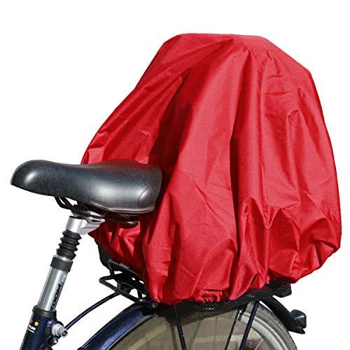NICE 'n' DRY Abdeckung und Regenschutz für Fahrradkorb XXL, rot