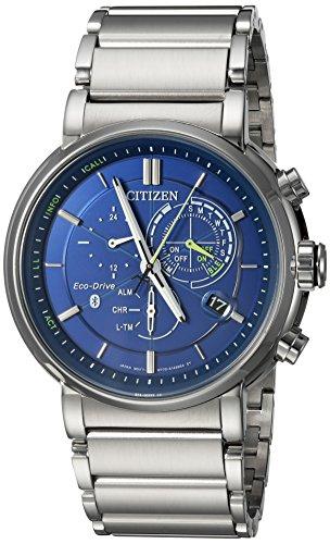 Citizen Eco-Drive Proximity Quartz Mens Watch, Stainless Steel, Technology, Silver-Tone (Model: BZ1000-54L)