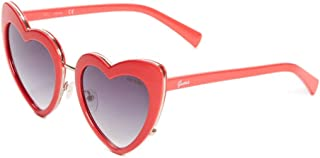 GUESS Factory Oversized Heart Sunglasses