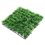 POPETPOP Acuario Cesped Artificial Cuadrada Hierba Verde Acuatica Paisaje Plantas Verdes para Agua Jardín Decoración