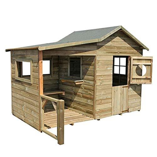 Hacienda Gartenhaus Holz Kinder aus behandeltem Holz...