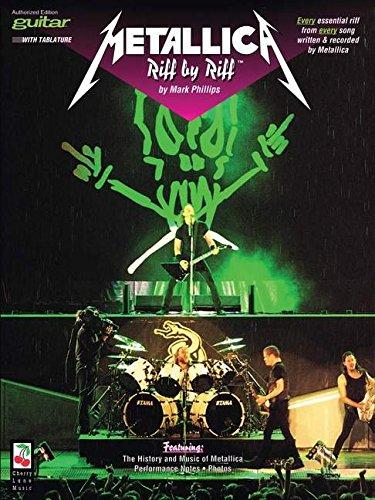 Metallica Riff By Riff (Album): Noten für Gitarre