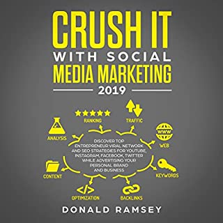 Crush It with Social Media Marketing 2019 audiobook cover art