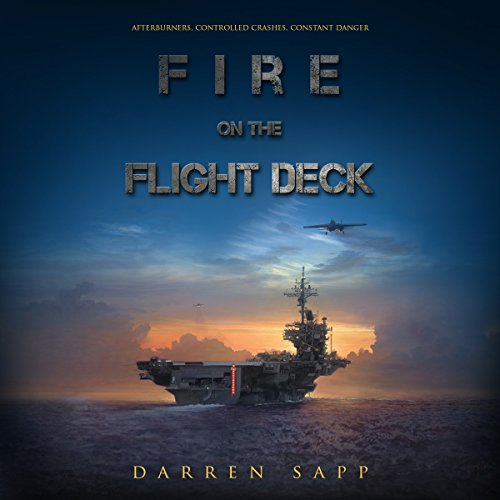 Fire on the Flight Deck audiobook cover art