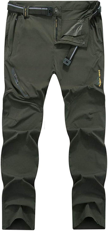 Men Outdoor Hiking Camping Quick Dry Climbing Trekking Mountain Trousers Thin Elasticity 8XL Pants