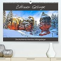 Zittauer Gebirge - Deutschlands kleinstes Mittelgebirge (Premium, hochwertiger DIN A2 Wandkalender 2022, Kunstdruck in Hochglanz): Fotografien im Lauf der Jahreszeiten aus der Oberlausitz (Monatskalender, 14 Seiten )