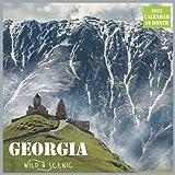 Georgia Wild & Scenic Calendar 2022: Official US State Georgia Calendar 2022, 16 Month Calendar 2022