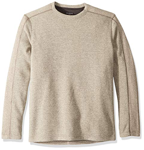 Van Heusen Herren Flex Sweater Fleece Crew Sweatshirt, Silberne Birke, Small