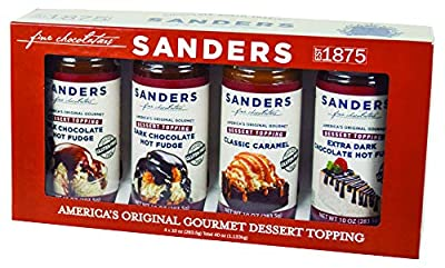 Sundae Best Taster Gift Box With 4 Flavors By Sanders