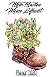 Mein Garten Meine Zuflucht Planer 2020: Gartenplaner Pflanzen Kalender 2020 I Garten Planer Notizbuch A5 120 Seiten I Saisonkalender Gartenarbeit ... Jahresübersicht Wochenplaner Stiefel