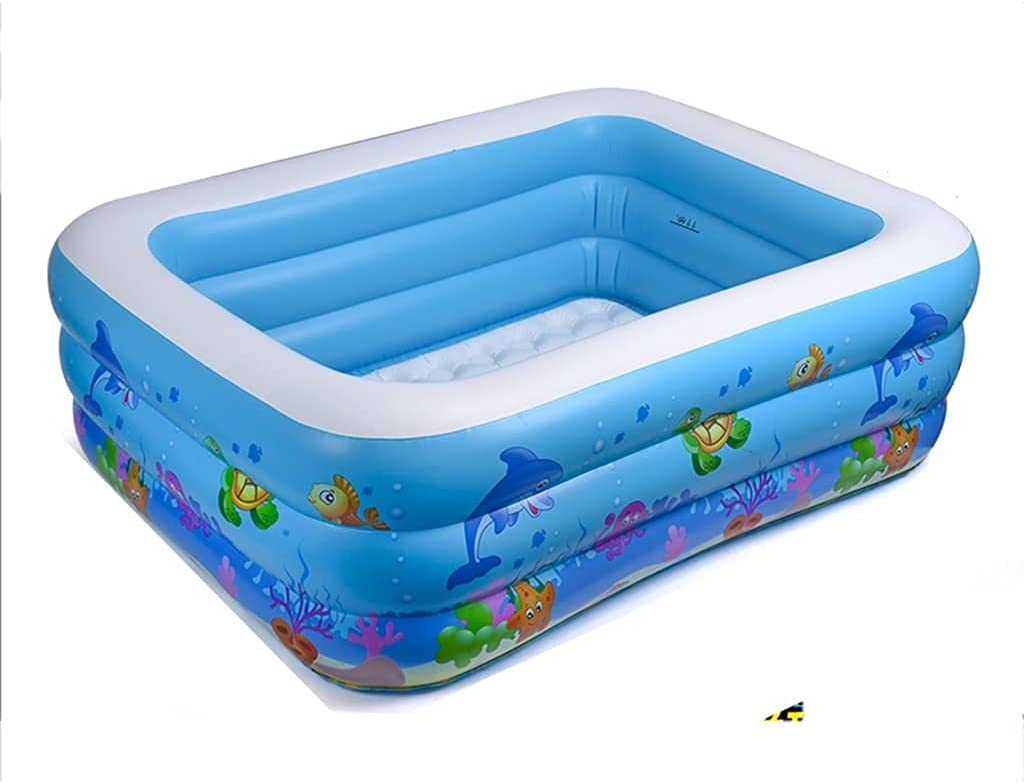 LUXMAX Max 64% OFF Beautiful Inflatable Swimming Pools for Kids T Cheap SALE Start Adults and