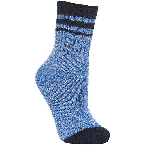Trespass Kinder Vic Anti-Blasen Stiefel Socken (31-34 EU) (Hellblau Meliert)