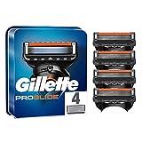 Gillette Fusion5 ProGlide Maquinilla de afeitar con 4 recambios, tecnología FlexBall que se adapta a los contornos