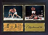 SGH SERVICES Poster Boxer Muhammad Ali, gerahmt, Fotoposter