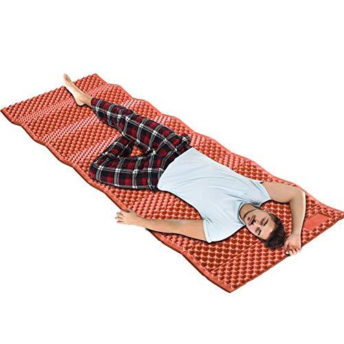 UNCOTARILY Colchoneta impermeable para dormir, para picnic, a prueba de humedad, para exteriores, portátil, plegable, equipo de viaje y trekking, impermeable, manta resistente a la humedad