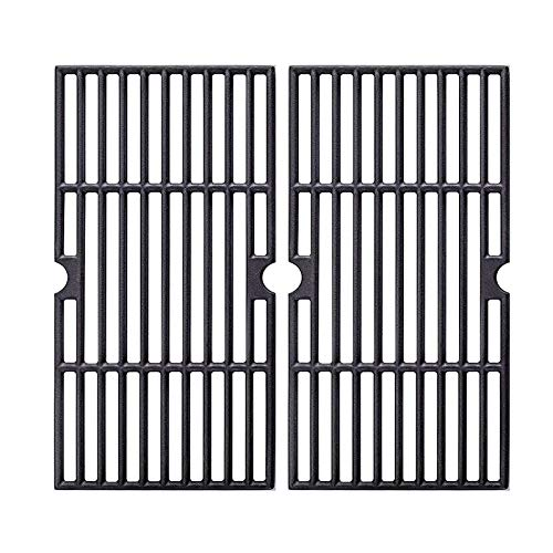 Grill Grates Replacement for Charbroil 2 Burner 463250210, 463250211, 463250212, 463251413, 463251414, 466251413, Thermos 461633514, 16 15 16  Cast Iron Cooking Grids