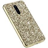 Uposao Glitter Coque pour One Plus 8,Paillettes Strass Brillante Bling Glitter,IMD Design Coque PC...