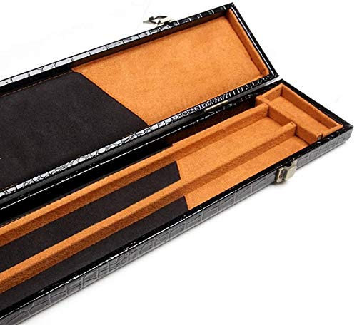 WEHOLY 3/4 Joint Snooker Cue Case, 120cm Holds 2pc Snooker or Pool Cue Pool Cue