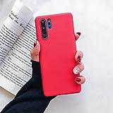 HUAI Pain Color Coque de protection en TPU souple pour Huawei P40 P30 Lite P20 Pro Y9 Y7 Y6 Y5 MATE...