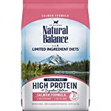 Natural Balance L.I.D. Limited Ingredient Diets High Protein Dry Cat Food For Adult Cats, Salmon...