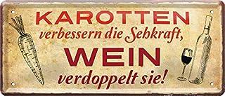 Blechschilder Divertido cartel decorativo de bebidas alcohólicas con frases de humor para la cocina, bodega, bodega, viña,...
