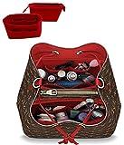 Best Handbag Organizer Inserts - LEXSION 2-Pack Felt Handbag Organizer,Insert purse organizer Fits Review