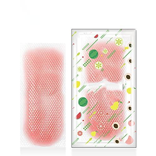 XYZLEO Compresas FríAs,con Bolsa De RefrigeracióN De Gel Artefacto De Verano 30 Piezas,Parches De Gel Refrescante 4 Sabores PrevencióN del Golpe De Calor