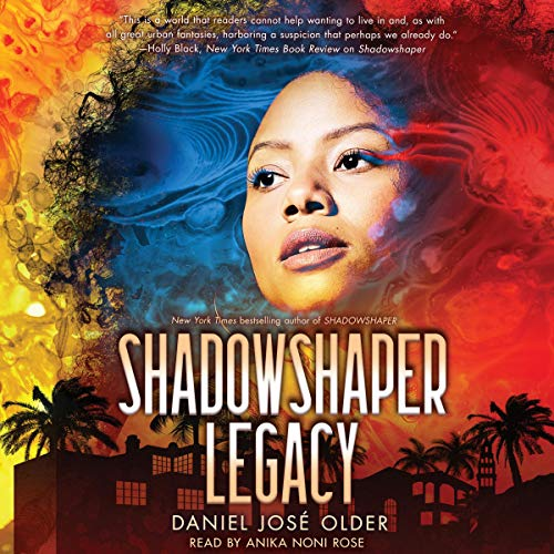 Shadowshaper Legacy audiobook cover art