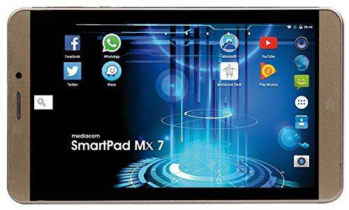 Mediacom Mx 7 HD Tablet PC, Display 7  LCD, MT8735B Quad Core 1.1 GHz, 1 GB, eMMC 16000 MB [Layout Italiano]