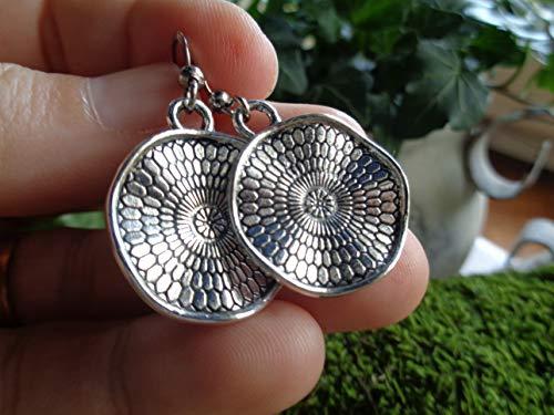 ✿ NEUE BOHO ETHNO MANDALA ✿ kleine Haken Ohrringe - einmaliges Geschenk - handgefertigt