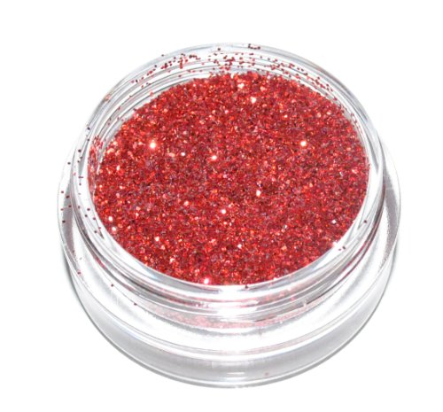 Red Sparkle Eye Shadow Loose Glitter Dust Body Face Nail Art Party Shimmer Make-Up by Kiara H&B