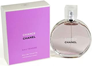 Chaneⅼ Chance Eau Tendre Eau de Toilette Women Spray 3.4 Fl. OZ. / 100ML.
