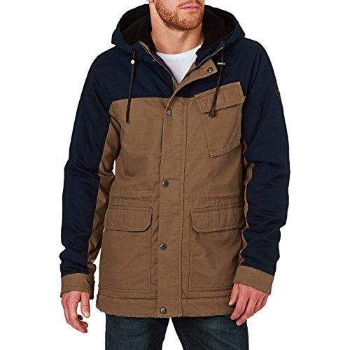 O'Neill Herren AM Offshore Jacket Jacke, Brown AOP, M
