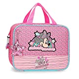 Disney Neceser Minnie Pink Vibes Adaptable a Trolley, Rosa