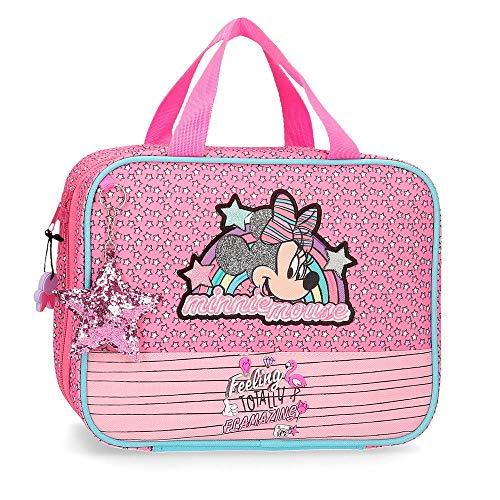 Neceser da viaggio adattabile al Trolley Minnie Pink Vibes