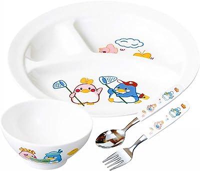 ナガオ 燕三条 ベン&ベティ 子供用食器セット プラスチック 日本製