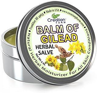 Creation Farm Balm of Gilead Salve - Large 4 Oz Tin - All Botanical Balm of Gilead Bud Ointment, Todos Báls...