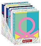 Safta Safta - Espositore per cartelle a 4 anelli, 12 pezzi