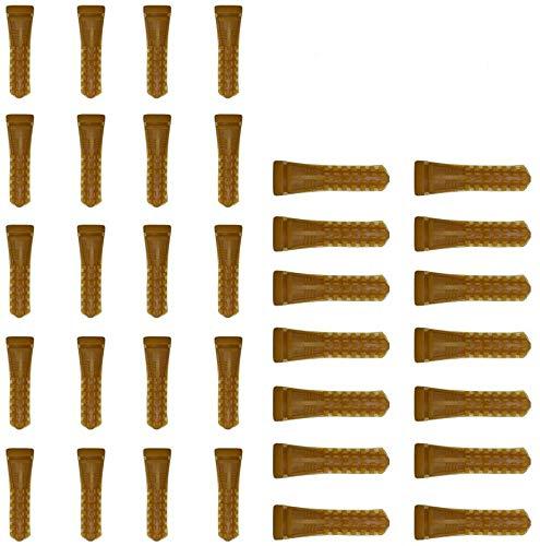 Huatuo 30 pz Pollame Plucker Picker Dita Macchina di Rimozione Dei Capelli Colla Stick Heavy Duty Spiumatura Per Pollo Anatre Oche